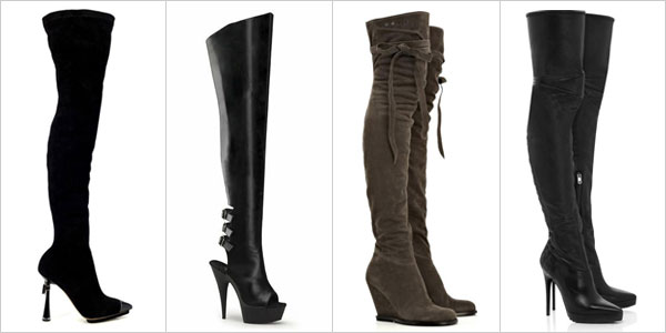 Leather Stiletto Long boots, Thigh High Heels For Women | Girlshue