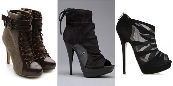 Stiletto Ankle Boots & Lace up High Heels For Women | Girlshue
