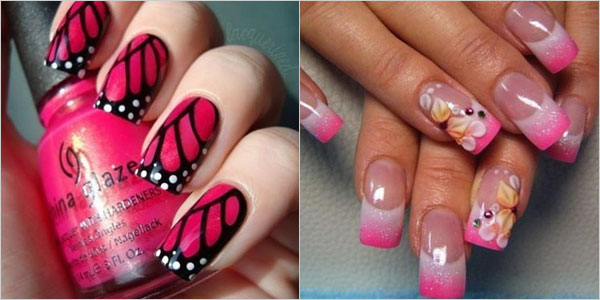 Superb-Yet-Creative-Pink-Nail-Art-Designs-And-Galleries-For-Beginners