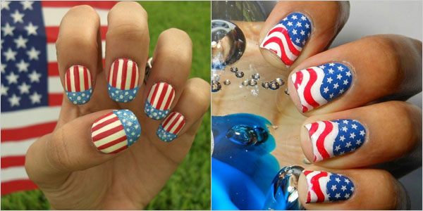 4th Of July Nail Art Designs Supplies Galleries For Beginners