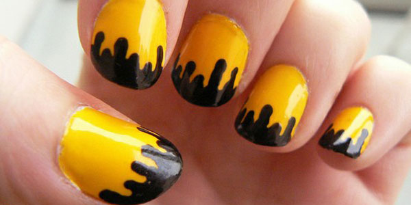 15 best simple black nail art designs supplies galleries for 15 best simple black nail art designs supplies galleries for beginners girlshue prinsesfo Image collections