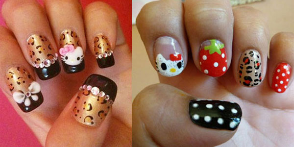 20-Cute-Hello-Kitty-Nail-Art-Designs-Supplies-Stickers