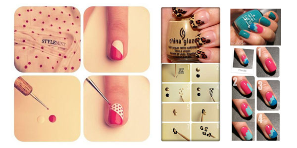 25-Best-Easy-Nail-Art-Tutorials-2012-For-Beginners-Learners