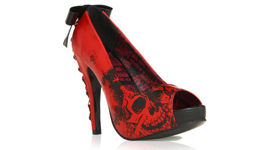 Best-Stylish-Yet-Scary-Halloween-High-Heels-Shoes-2012-For-Girls-Women