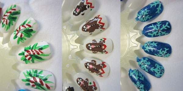 15 best christmas nail art designs supplies ideas 2012 for girls girlshue - Nail Design Ideas 2012