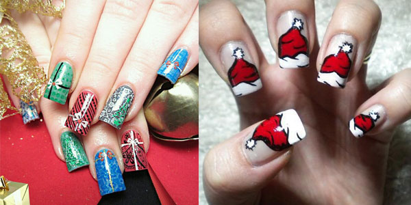 15 best cute amazing christmas nail art designs ideas pictures 2012 girlshue - Nail Design Ideas 2012