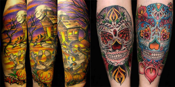 15-Best-Unique-Scary-Halloween-Tattoo-Designs-Images-Galleries-2012-For-Girls-Women