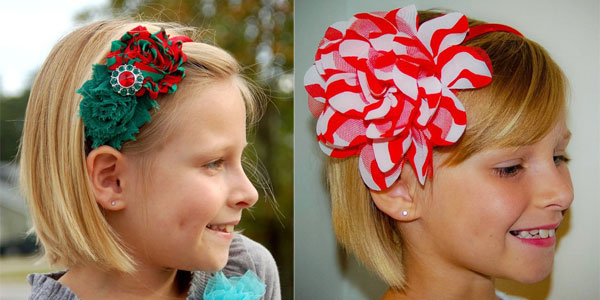 20 Cute   Amazing Christmas Headbands For Baby Girls   Kids  850f1be2421