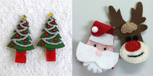 30-Cute-Amazing-Christmas-Hair-Clips-2012-For-Kids-Holiday-Accessories