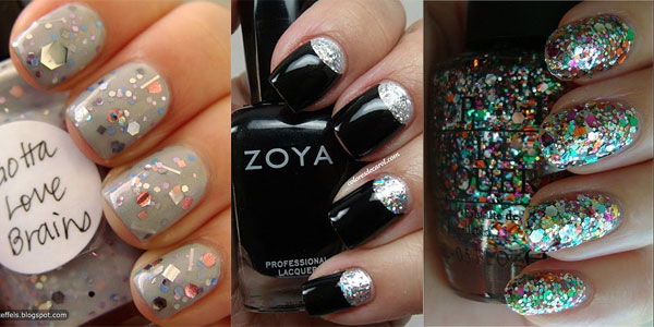 10 Creative Happy New Year Eve Nail Art Designs 20122013 Girlshue
