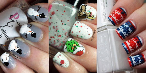 Nail Design Ideas 2012 nail polish design ideas 2012 15 Cool Simple Easy Winter Nail Art Designs Ideas 20122013 Girlshue