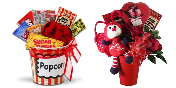 15 amazing valentines day basket ideas 2013 for him her girlshue - Valentines Day Gift Basket Ideas