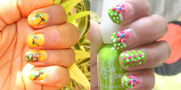 Girlish Little Girl Nail Designs With Sweet And Colorful Designs