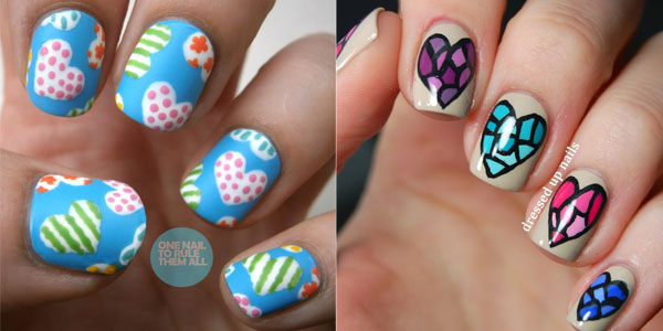 Simple Easy Nail Art Designs Ideas For Girls 2013
