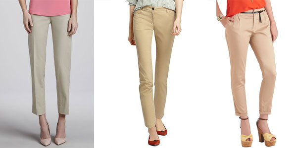 Khaki Pants For Girls | Girlshue