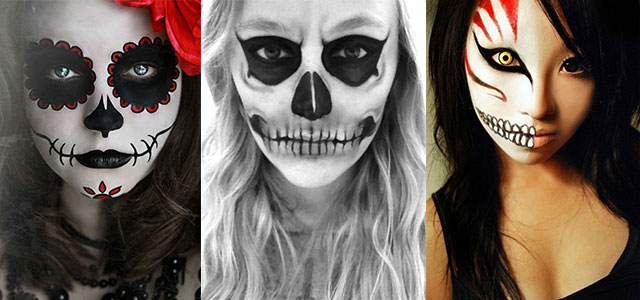 Amazing-Yet-Scary-Halloween-Make-Up-Ideas-looks-For-Girls-2013-2014