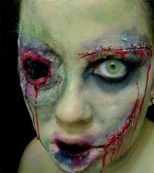Best Yet Scary Halloween Make Up Ideas &amp Looks For Girls - Best Halloween Faces