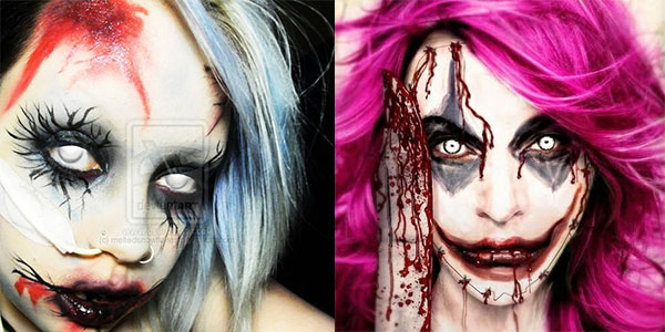 Cool Yet Scary Halloween Make Up Ideas & Looks For Girls 2013 ...