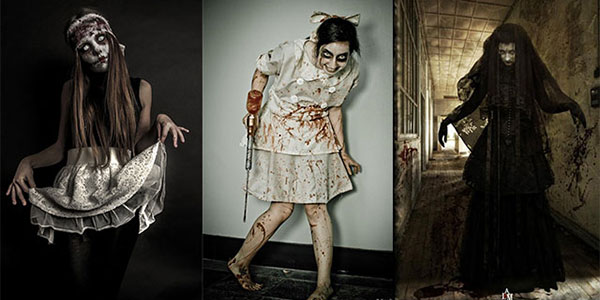 Creative, Unique \u0026 Scary Halloween Costume Ideas For Girls