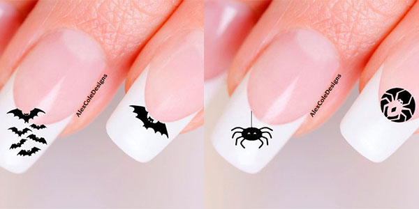 Simple easy halloween nail art designs ideas stickers girlshue prinsesfo Images