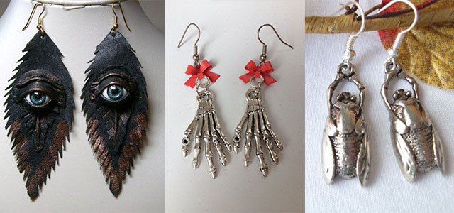 Amazing-Yet-Scary-Halloween-Earrings-2013-2014-For-Kids-Girls