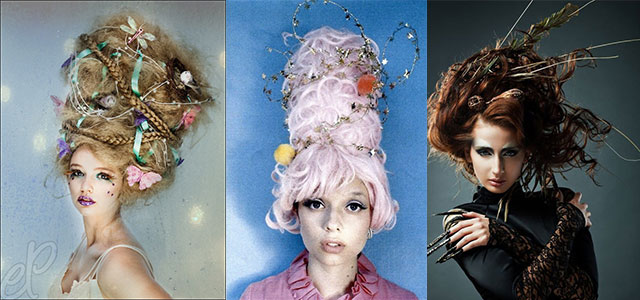 Crazy-Yet-Scary-Halloween-Hair-Ideas-For-Girls-Women-2013-2014