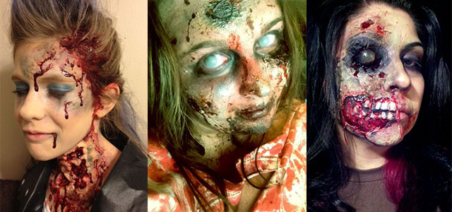 inspiring yet scary halloween make up ideas for girls girlshue