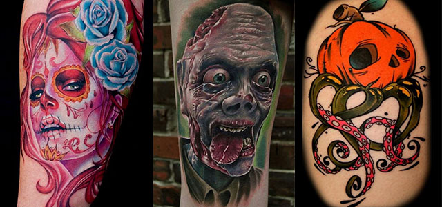 Scary-Halloween-Themed-Tattoo-Designs-2013-2014