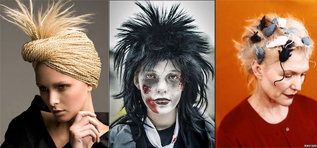 Unique-Yet-Scary-Hairstyles-For-Halloween-For-Girls-Women-2013-2014