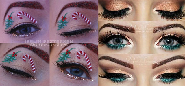 Creative-Christmas-Party-Or-Fantasy-Eye-Make-Up-Ideas-Looks-X-mas-Eyeshadows