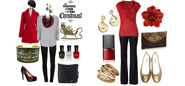 Latest-Christmas-Party-Outfits-2013-2014-Polyvore-Xmas-Costumes-Ideas-F