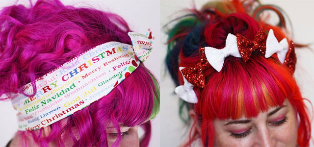 Cute-Christmas-Hair-Bows-Hair-Bands-For-Girls-Women-2013-2014-F