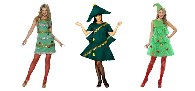 Home-made-Christmas-Tree-Costume-Ideas-For-Women-2013-2014-F