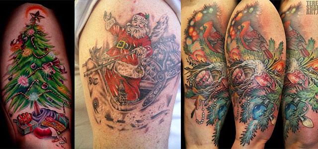 Amazing-Christmas-Tattoo-Designs-Ideas-2013-2014