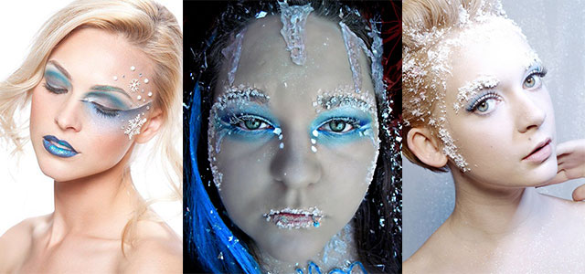 Amazing-Ice-Princess-Frozen-Winter-Make-Up-Ideas-Looks-2013-2014