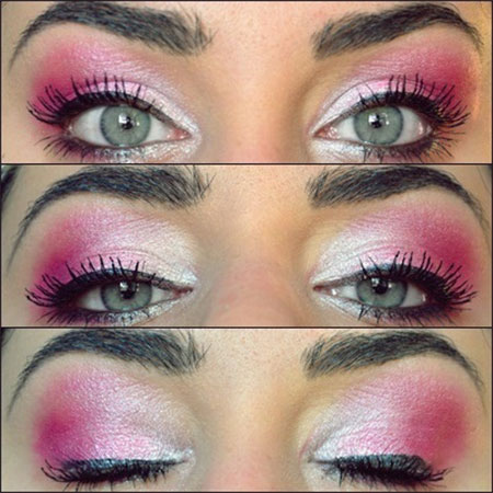 Amazing-Valentines-Day-Eye-Mak-Up-Looks-Ideas-2014-For-Girls-1