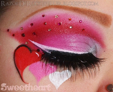 Amazing-Valentines-Day-Eye-Mak-Up-Looks-Ideas-2014-For-Girls-11