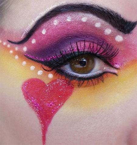 Amazing-Valentines-Day-Eye-Make-Up-Looks-Ideas-2014-For-Girls-12