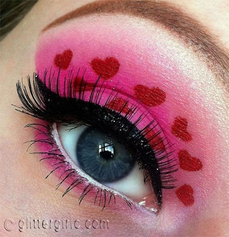 Amazing-Valentines-Day-Eye-Mak-Up-Looks-Ideas-2014-For-Girls-13