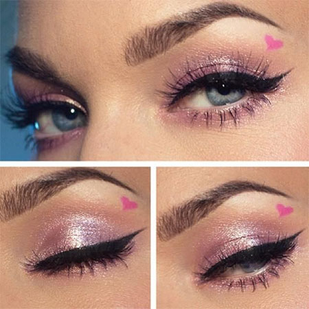 Amazing-Valentines-Day-Eye-Mak-Up-Looks-Ideas-2014-For-Girls-3