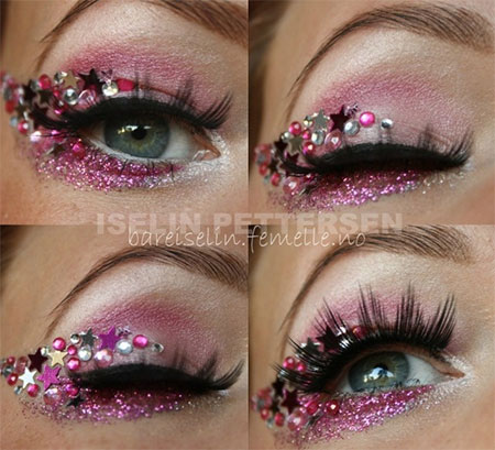 Amazing-Valentines-Day-Eye-Mak-Up-Looks-Ideas-2014-For-Girls-6