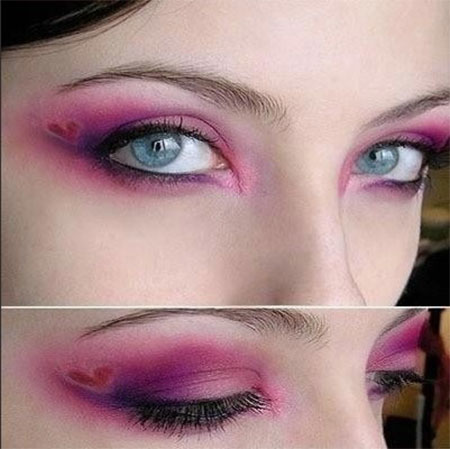 Amazing-Valentines-Day-Eye-Mak-Up-Looks-Ideas-2014-For-Girls-7
