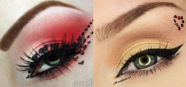 Amazing-Valentines-Day-Eye-Mak-Up-Looks-Ideas-2014-For-Girls