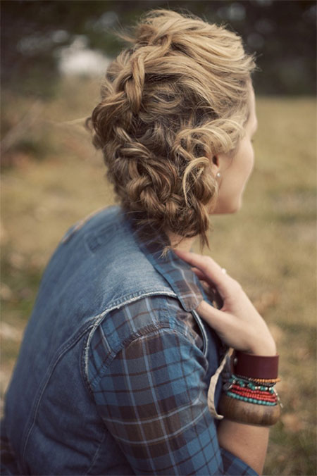 50 Cute Winter Hairstyles for Long Hair, Short Hair, Curly ... |Girls Winter Hairstyles