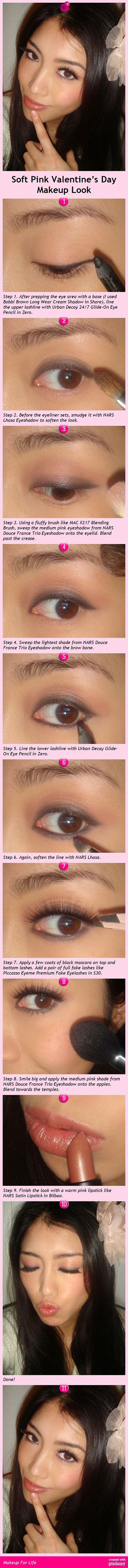 Easy-Valentines-Day-Eye-Make-Up-Tutorials-2014-For-Beginners-3
