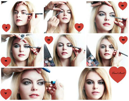 Easy-Valentines-Day-Eye-Make-Up-Tutorials-2014-For-Beginners-6