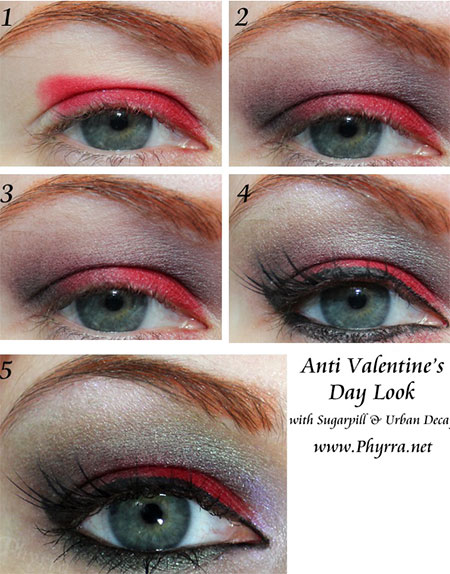 Easy-Valentines-Day-Eye-Make-Up-Tutorials-2014-For-Beginners-8