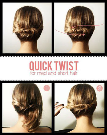 easy valentine's day hairstyle tutorials 2014 for