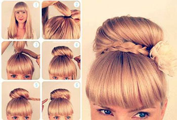 Fantastic Pretty But Easy Hairstyles Best Hairstyles 2017 Hairstyle Inspiration Daily Dogsangcom