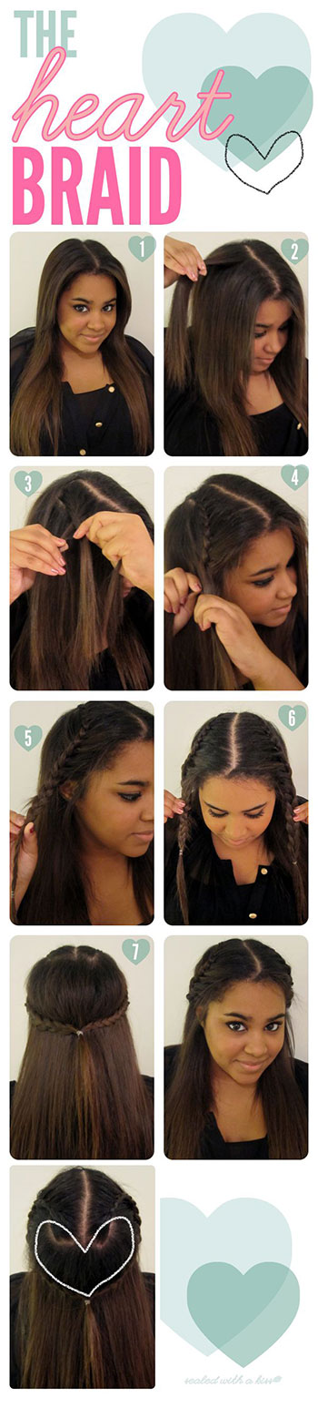 Easy-Valentines-Day-Hairstyle-Tutorials-2014-For-Beginners-Learners-2